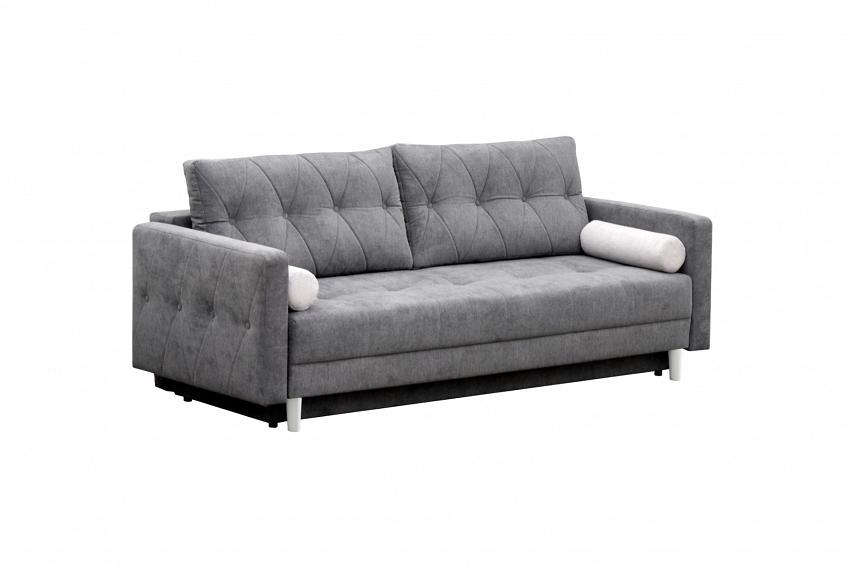 duża sofa rozkładana z oparciami