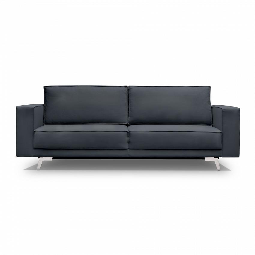 ciemna elegancka sofa