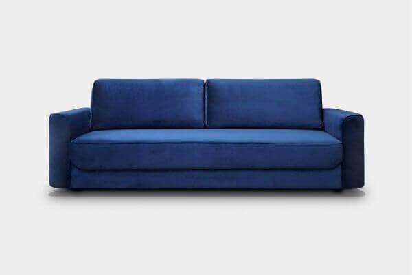 welurowa sofa - idealna do salonu