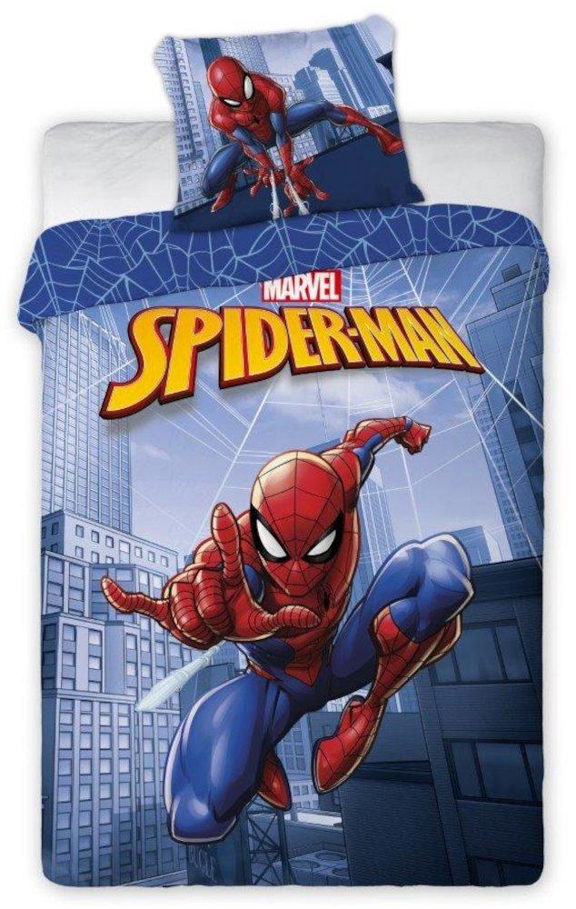 Pościel dla dzieci Spiderman z napisem