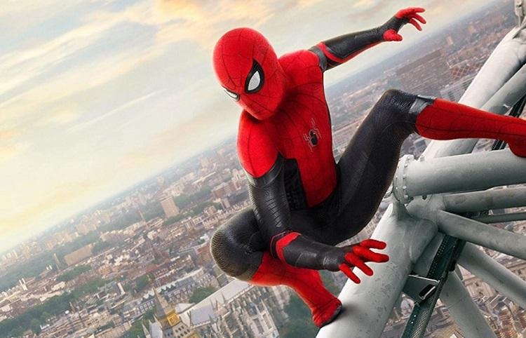 Postać Spiderman z uniwersum Marvela